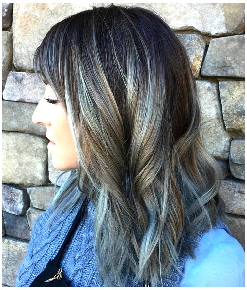20 Trendy Graue Frisuren Graue Haare Trend Balayage Hair Designs