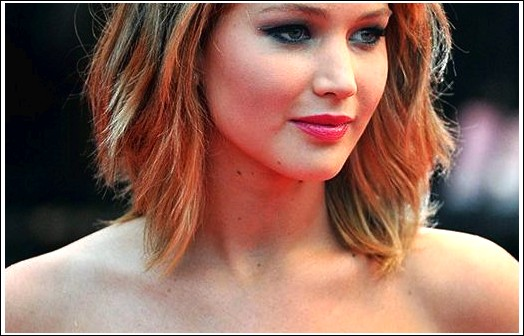 Kurze Geschichtete Frisur Fur Frauen Jennifer Lawrence Haircuts