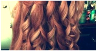 Curly Waterfall Braid: Formelle Ringlets & Braid Long Style